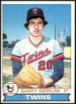 1979 Topps #627  Gary Serum  Front Thumbnail