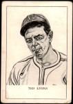 1950 Callahan Hall of Fame  Ted Lyons  Front Thumbnail