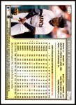 1999 Topps Opening Day #129  Barry Bonds  Back Thumbnail