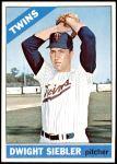 1966 Topps #546  Dwight Siebler  Front Thumbnail