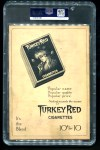 1911 T3 Turkey Red #117  Wildfire Schulte   Back Thumbnail