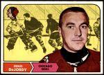 1968 Topps #12  Denis DeJordy  Front Thumbnail