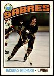 1976 Topps #8  Jacques Richard  Front Thumbnail