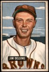 1951 Bowman #279  Jim Delsing  Front Thumbnail