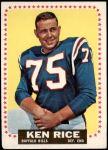 1964 Topps #34  Ken Rice  Front Thumbnail