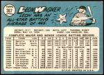 1965 Topps #367  Leon Wagner  Back Thumbnail