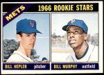 1966 Topps #574   -  Bill Hepler / Bill Murphy Mets Rookies Front Thumbnail