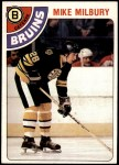 1978 Topps #59  Mike Milbury  Front Thumbnail