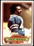 1980 Topps #413  Robert Newhouse  Front Thumbnail