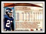 1998 Topps #157  Phillippi Sparks  Back Thumbnail