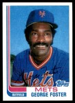 1982 Topps Traded #36 T George Foster  Front Thumbnail