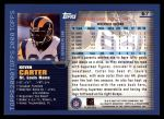 2000 Topps #57  Kevin Carter  Back Thumbnail