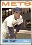 1964 Topps #84  Carlton Willey  Front Thumbnail
