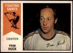 1974 O-Pee-Chee WHA #28  Fran Huck  Front Thumbnail