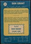 1969 O-Pee-Chee #125  Danny Grant  Back Thumbnail