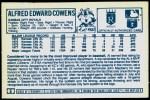 1978 Kellogg's #5  Al Cowens  Back Thumbnail