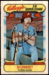 1978 Kellogg's #3  Mike Schmidt  Front Thumbnail