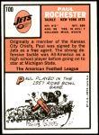 1966 Topps #100  Paul Rochester  Back Thumbnail