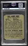 1948 Leaf #138  Larry Doby  Back Thumbnail