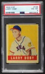 1948 Leaf #138  Larry Doby  Front Thumbnail