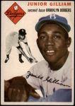 1954 Topps #35 WHT Jim Gilliam  Front Thumbnail