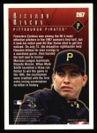 1998 Topps #267   -  Rico Rincon / Francisco Cordova Highlights Back Thumbnail