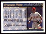 1998 Topps #449  Fernando Tatis  Back Thumbnail
