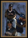 1998 Topps #484   -  Derrick Gibson / Michael Coleman / Norm Hutchins Prospects Front Thumbnail
