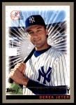 2000 Topps #478 A  -  Derek Jeter 1996 AL Rookie of the Year - Magic Moments Front Thumbnail