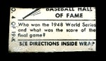 1948 Topps Magic Photo #4 K Cleveland Indians 4-3  Back Thumbnail