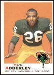 1969 Topps #255  Herb Adderley  Front Thumbnail