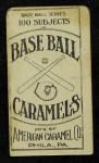1909 E90-1 American Caramel  Frank Corridon  Back Thumbnail