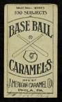1909 E90-1 American Caramel  Ray Demmitt  Back Thumbnail