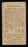1911 T205  Ed Killian  Back Thumbnail