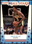 1989 Fleer Sticker #8  Dale Ellis  Front Thumbnail