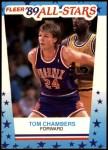 1989 Fleer Sticker #11  Tom Chambers  Front Thumbnail