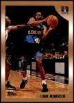 1998 Topps #112  Cedric Henderson  Front Thumbnail