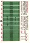 1971 Topps Football Posters #24  Bobby Bell  Back Thumbnail