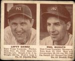 1941 Double Play #61  / 62 Lefty Gomez / Phil Rizzuto  Front Thumbnail