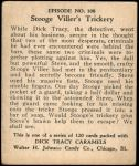 1931 Dick Tracy #108   Stooge Viller's Trickery Back Thumbnail