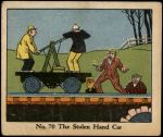1931 Dick Tracy #70   The Stolen Hand Car Front Thumbnail