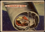 1957 Topps Space #2   Dog in Sputnik II Front Thumbnail