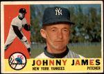 1960 Topps #499  Johnny James  Front Thumbnail