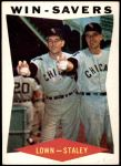 1960 Topps #57   -  Turk Lown / Jerry Staley Win-Savers Front Thumbnail