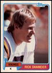 1981 Topps #77  Rick Danmeier  Front Thumbnail