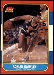 1986 Fleer #21  Adrian Dantley  Front Thumbnail