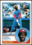 1983 Topps #615  Garry Maddox  Front Thumbnail