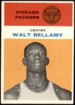 1961 Fleer #4  Walt Bellamy  Front Thumbnail