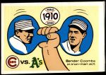 1970 Fleer World Series #7   -  Chief Bender / Jack Coombs 1910 A's vs. Cubs   Front Thumbnail