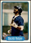1982 Fleer #336  Harold Baines  Front Thumbnail
